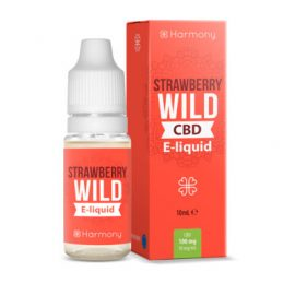 e-líquido CBD Harmony Wild Strawberry